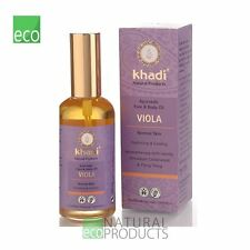 Khadi Ayurvedic Face and Body Oil Viola Normal Skin 100ml