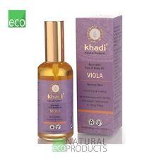 Khadi Ayurvedic Face and Body Oil Viola Normal Skin 100ml