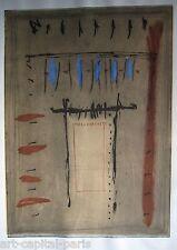 HAGEGE DIDIER GRAVURE 1990 SIGNÉE AU CRAYON NUM/30 HANDSIGNED NUMB/30 ETCHING