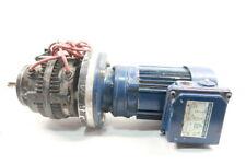 Sumitomo CNVM018 4085G51GF63M/4 Gearmotor 28.04rpm 3ph 0.18kw 230/400v-ac