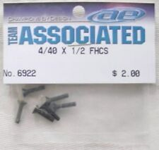 "4-40 x 1/2"" Flat Head Screws (6pcs) ASC6922"