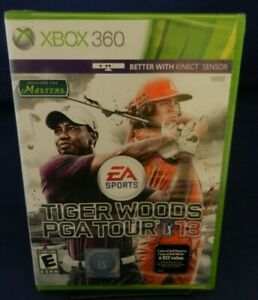 New Factory Sealed, Xbox 360; Tiger Woods PGA Tour 13, w/ Manual, Free Shipping