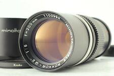 [Near Mint] Minolta Tele Rokkor-QE 200mm F5 MF lens From Japan #AE3003