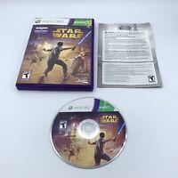 Kinect Star Wars (Microsoft Xbox 360, 2012) Complete With Manual CIB