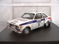 Trofeu Ford Escort Mk2 1st RAC Rally 1977 Waldegaard/Thorszelius REF; 1011