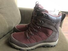 North Face Waterproof Maroon/Brown Boots Men's 13