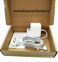 """45W MagSafe 2 Power Charger Adapter T-Tip For MacBook Air 11''13""""A1465 A1436"""