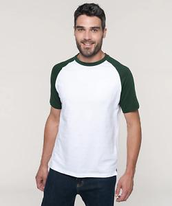 Kariban Baseball Contrast T-Shirt