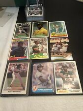 Rickey Henderson Collection Over 50 Different Cards EX Or Better See Pics