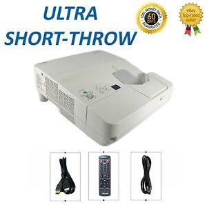 NEC UM330W 3LCD Projector WXGA Ultra Short Throw 3300 ANSI HDMI 1080p w/bundle