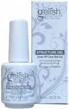 Nail Harmony Gelish UV Gel Polish Brush on Structure Gel Clear 0.5floz / 15ml