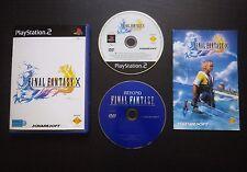 FINAL FANTASY X : JEU Sony PLAYSTATION 2 : (SquareSoft COMPLET envoi suivi)