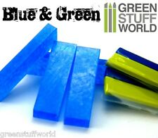 COMBO Blue Stuff y Green Stuff 30cm - para Wargames Warhammer Instant Mold