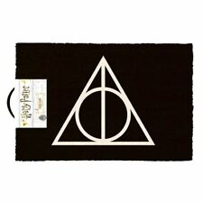 Harry Potter Deathly Hallows Doormat Entrance Welcome Mat - Home Accessories