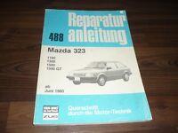 MAZDA 323 II 1100 1300 1500 GT 1980- Motor Getriebe Fahrwerk WERKSTATT HANDBUCH