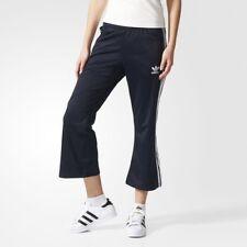 Adidas Originals Ladies 7/8 Flared Trefoil Track Pants Bottoms UK 4 BNWT AZ3238