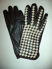 Ladies Genuine Leather Driving Gloves,Small, Black-SEE DESCRIPTION FOR PICS