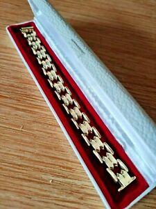 585 Gold Armband 19 cm lang 25g schwer