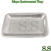 Mayo Instrument Tray 10X6X3/4 Surgical Dental veterinar