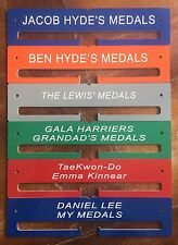 Medal Hanger 340x80mm - Running Swimming Football .personalised name & sport
