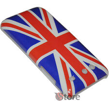 Cover Custodia Per Samsung Galaxy S Advance I9070 Bandiera Inglese + Pellicola