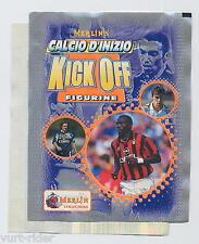 Merlin KICK OFF calciatori 1997 1998 WEAH - bustina vuota scollata - Bu83