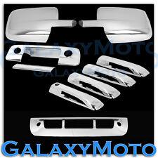 09-17 Ram Chrome Mirror no Light+4 Door Handle+Tailgate+KH+CM+3rd brake Cover