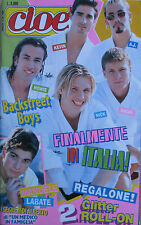 CIOE' 24 1999 Backstreet Boys Scott Robinson Daniele Groff Skunk Anansie Ultra