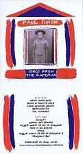 "Paul Simon ""Songs from the Capeman"" Von 1997! 13 Songs + 3 Bonustracks! Neue CD!"
