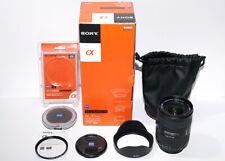 Sony Alpha Carl Zeiss 16-35mm f2.8 Wide Angle Zoom Lens LA-EA4 A E Mount Camera
