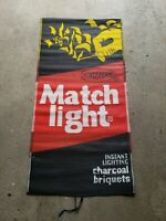 Vintage Kingsford Matchlight Mat by Mr. Mat Instant Lighting Charcoal