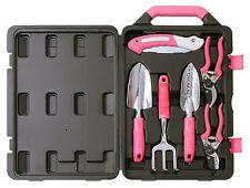 Apollo Tools 6 Piece Garden Tool Kit - Pink, DT3706P, BRAND NEW