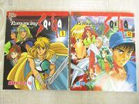ROMANCING SAGA Manga Comic Complete Set 1&2 SAORI KONNO Japan Book 1995 TK