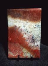 LF Moss Agate Cabochon aka Picture / Suiseki stone 34 x 23 x 5mm