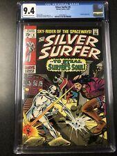 Silver Surfer #9 Marvel Comics  10/69  CGC 9.4