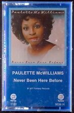 Paulette McWilliams-Never Been Here Before LP CASSETTE FANTASY SEALED OOP