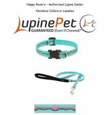 """Lupine Lifetime Limited Edition Dog Collars or Leashes - 1/2"""" -  NECKLACE"""