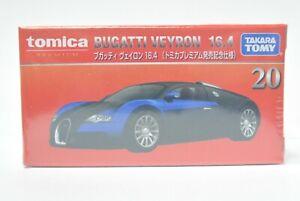 TAKARA TOMY TOMICA PREMIUM DieCast car 1:62 BUGATTI VEYRON 16.4  1st # 20