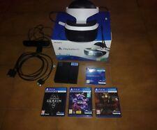 Sony ps4 Vr + camera + 3 giochi