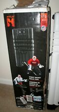 """New in Open box Mylec Street Hockey Goalie Pads Size 32"""" - Large - White Color"""