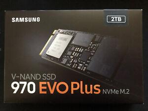NIB Samsung V-NAND SSD 970 EVO Plus NVMe M.2 2TB Solid State Drive MZ-V7S2T0