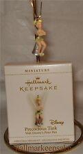 2006 HALLMARK MINIATURE ORNAMENT PRECOCIOUS TINK TINKER BELL DISNEY PETER PAN
