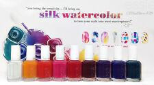 ESSIE Nail Polish- Lacquer- SILK WATERCOLOR 2015 Collection - 0.46oz- Pick Color