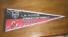 2012 KINGS vs DEVILS STANLEY CUP DUELING PENNANT  - NEW