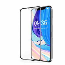 2x For iPhone X Tempered Glass Film Screen Protector 9D Curved Edge to Edge UK