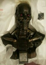 Sideshow T-600 Terminator Salvation Life-Size Endoskeleton Bust 1:1 Scale NEW