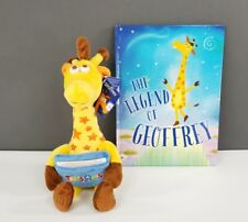 Toys R Us Geoffrey Plush Gift Card Holder & The Legend Of Geoffrey Book Lot NEW