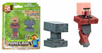 Minecraft Population Blacksmith Villager & Accessory 3-Inch Fig - New in stock