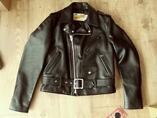 Schott NYC Perfecto Biker 613 One Star 38UK RRP £900 Brand New Latest Model
