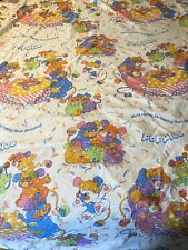 Vintage 1986 Popples Twin Bed Bedding Duvet Cover
